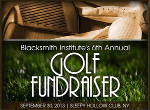 Blacksmith golf benefit